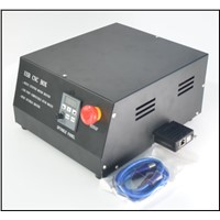 USB CNC BOX 4 Axis Stepper Motor Driver + USB Port Compatible with Mach3+BLDC Spindle Driver