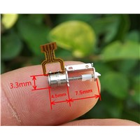2 phase 4 wire rod stepper motor ultra micro camera accessories diameter 3.3mm drive accessories