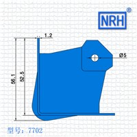 NRH7506 package angle Cosmetic bag corner Air bag angle