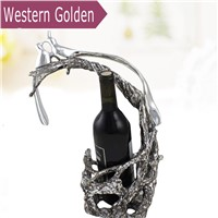 Creative high - quality resin wine racks KTV high - grade wine racks Continental home decorations wine cooler