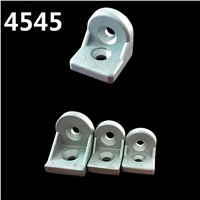5PCS/LOT L shape 4545 Steering angle aluminum at any angle bracket Corner Brackets Profile connection fittings single brackets