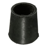 "black anti scratch Small-Large Rubber Ferrule floor protector chair feet leg capdiameter :16Mm(5/8"") Quantity::12Pcs"