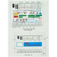 cnc USB March 3 control card 4 axis used for woodworking cnc drilling machine