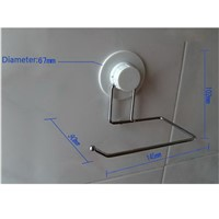 Toilet Paper Holder Bathroom Suction Hanger Tissue Rack Kitchen Towel Hook -Y103