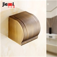 All Copper Paper Holder Roll Tissue Holder Hotel Works Toilet Roll Paper Tissue Holder Box Surface Antique Drawing treatment 107