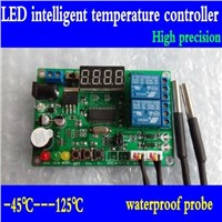 High precision Digital display intelligent temperature controller with 2 probe