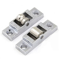 2pcs Plastic Slot Pulley Single Plane Sliding Window Roller Skating Window Wheel Bulb Slide Door&Window Accessory