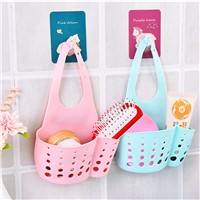 Simple kitchen sink drain tap rack hanging basket hanging storage bag hanging bag bathroom sink