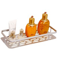 Bathroom Kitchen Portable Hanging Drain Case Basket Bath Storage Gadget Tools Sink Holder With Suction Cup
