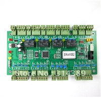 WG2004 RS485 Four 4 Door Access Controller 20K Users 100K Events MEM Fire Protection &Alarm Trigger Programmable logic