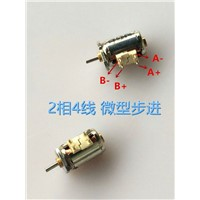 5pcs/lot, 10mm Camera mini stepper motor 2 phase 4 wire