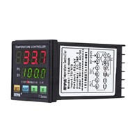 New Style MYPIN Digital LED PID Temperature Controller + PT100 RTD Thermistor Sensor Probe