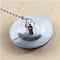 Chrome Bath Tub Drain Bathroom Sink Basin Bathtub Stopper Plug Bathtub Accessory #L057# new hot