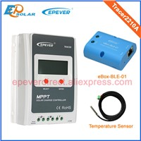 mini solar charger controller 20A Tracer2210A with USB canble Max Pv Input 100v