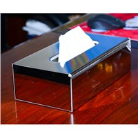 Paper Holder Stainless Steel Toilet Paper Tissue Pull Boxes Bath Room Desktop Srorage Organizers Phone Stand WC Paper WF-18031