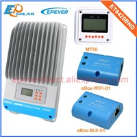 60amp 60A solar ET6420BND power Battery Charge Controller with white MT50 BLE and wifi funciton