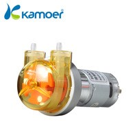 Kamoer 12V/24V small peristaltic pump with stepper motor mini dosingwater pump