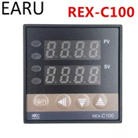 RKC REX-C100 REX-C100FK02-M*DN Digital PID Temperature Control Controller Thermostat Relay Output K Type Input AC110-240V