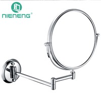 Nieneng Bathroom Makeup Mirrors Wall Mounted Folding Mirror 3X 5X 7X 10X Bath Mirror Make up Toilet Magnifying Mirror ICD60523