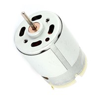RS380 DC 1.5-18V 30000RPM Micro Motor 38x28mm for RC Model Toys DIY, Silver