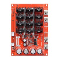 DC 10-50V 60A High Power Motor Speed Controller PWM HHO RC Driver Controller Module 12V 24V 48V 3000W Extension Cord with Switch