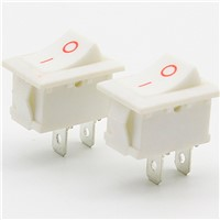 Electronic chassis electrical switch button switch small 21 * 15 mm/KCD1 form the power button button 2 feet