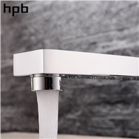 HPB Bathroom Faucet Mixer Bathroom Basin Faucet Basin Mixer Tap Bath Sink Pull Out Polished Chrome Thermostatic Faucets HP3208a