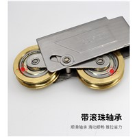 window roller 73-type aluminum windows and doors pulley sliding door roller sliding sash double copper wheel