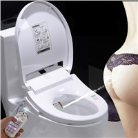Smart Heated Toilet Seat Remote Control  Intelligent female Bidet Toilet Seat WC Sitz Water Closet Automatic Toilet Lid Cover