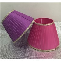 pink /purple E27 Desk Lamp Lampshade Lace Abstract simple Pattern Textile Fabrics Fashionable Decorative E27 table lamp shade