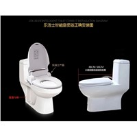 Smart Heated Toilet Seat WC Sitz Intelligent House Water Closet Automatic Toilet Lid Cover Heating For Elder Women Child Life
