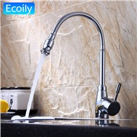 Kitchen Faucets Chrome Brass 720 Degree Rotation Single Lever Water Tap Washing Everything for The Kitchen torneira de cozinha