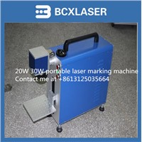 hot selling laser marking machine for IT industry auto parts hardware tools 20w protable type
