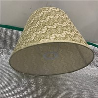 gold /silver E27 Desk Lamp Lampshade Lace Abstract simple Pattern Textile Fabrics Fashionable Decorative E27 table lamp shade