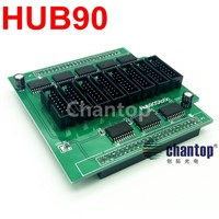 LED billboard display Conversion Card Hub90 Adapter 16pin with 8*hub90 interface