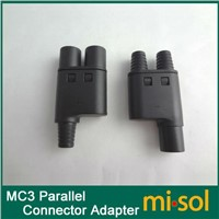 50pcs/lot MC3 Parallel connector Adapter 1M2F+2M1F,TUV,photovoltaic connector
