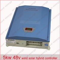 5kw 48v LCD display wind solar hybrid charge controller with CE