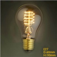 LightInBox E27 40W AC220V Globe Retro Edison LED Light Bulb For Dining Room Restaurant  Coffee Bar Light Vintage A19 Edison Bulb