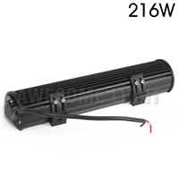 "DE.SOUL 216w 15"" inch combo beam waterproof ATV offroad car led work light bar truck car headlight"