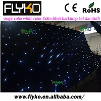 white led star cloth curtain 4m*8m/LED truss curtain/LED truss backdrop