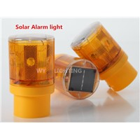 Traffic Warning Light Led Solar Signal Beacon Lamps  Industrial Road Lightsoutdoor lighting led solar alarm light 4pcs/lot