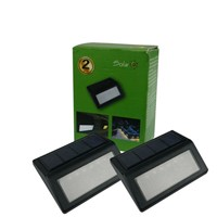2 pcs in pack  6 led SOLAR ENERGY CHARGER  solar power light outdoor solar wall lights