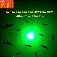 60W White Green Blue Yellow 12V Underwater Green LED Fishing Fish Light Snook Light Night Fishing Decorative Dock Light