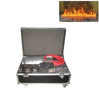 Gigertop Fire On The Water Flame Machine Flightcase Pack 1 Meter Fire Burning On the Water LPG or Propane Gas Fuel Supply