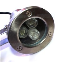 New 12v underwater pool lights flat lens stainless steel sheel IP68 red green blue floating led pool lights
