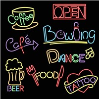 Outdoor advertising LED neon Pub sign light decoration neon signs for bar
