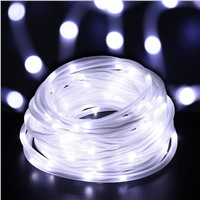 ICICLE 33ft 100 LED Solar Rope Lights Waterproof  Wire Lights, Portable Lighting For Outdoor