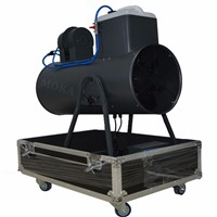 Flight case Packing 2000W Snow Fog Machine Party DJ Club Snow Machine Flake Effect For Christmas Holiday