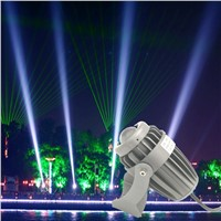 A beam light spotlight led 10w ac85-265 floodlight outdoor waterproof light pillars Exterior laser light construction lighting