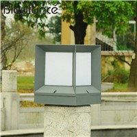 Lawn Light  garden lamps IP65  Waterproof  Pillar Stigma lamp Fence lights E27 Square column lights Gate courtyard Outdoor  NB66